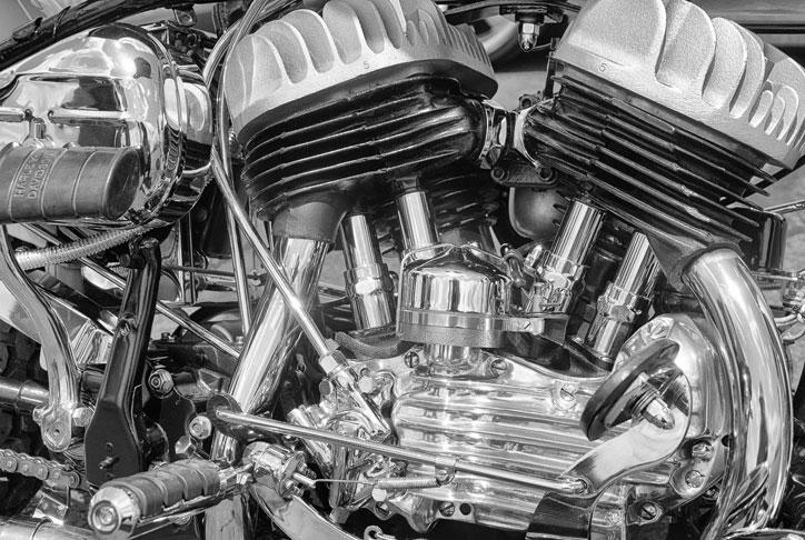 Flathead-engine
