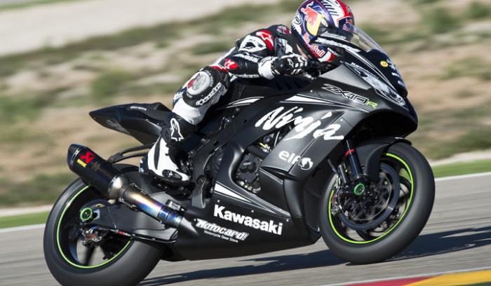 Kawasaki test MotoGP