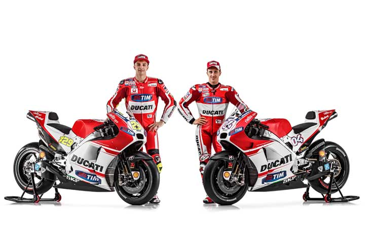 Ducati GP15 launching