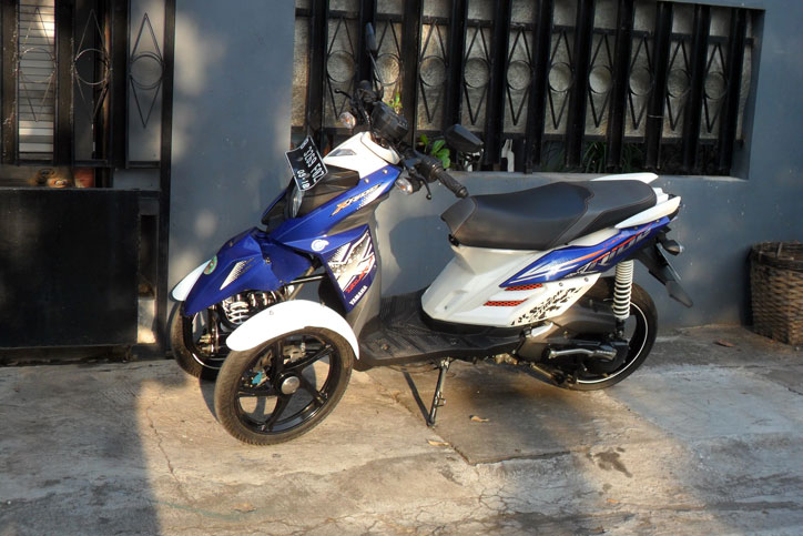 rwin development solo peracik motor roda tiga plug  play