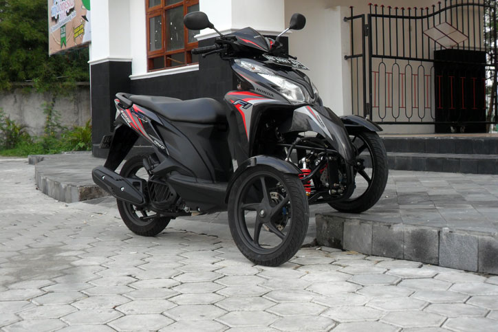 Rwin Development Solo Peracik Motor Roda Tiga Plug And Play