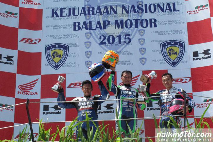 Tiga pembalap Yamaha, Wilman Hammar, Hendriansyah, Irwan Ardiansyah akan turun sebagai wild card di kelas AP250 ARRC Sentul akhir pekan ini