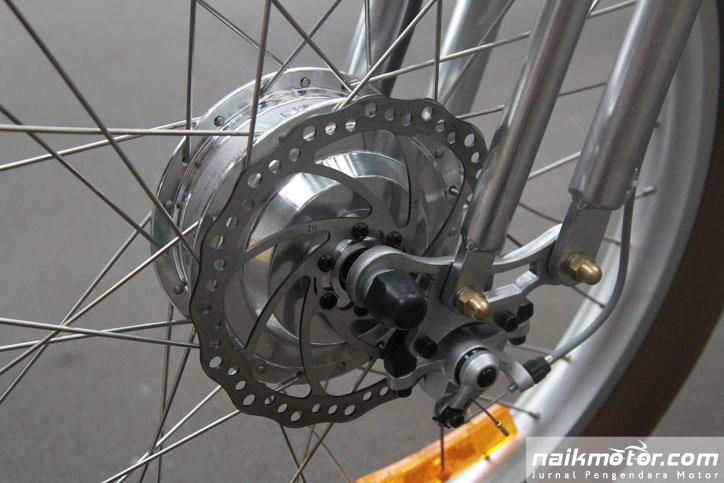 Sepeda Listrik Italjet Dari Italia Diboyong Garansindo