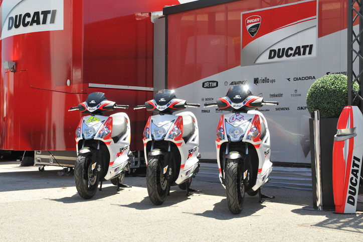 KYMCO-official-scooter-supplier-to-Ducati-Corse-01