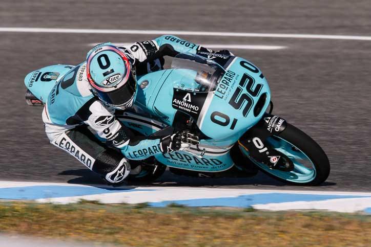 Danny Kent GBR Leopard Racing (Honda) tampil mengesankan di kualifikasi Moto3 Mugello
