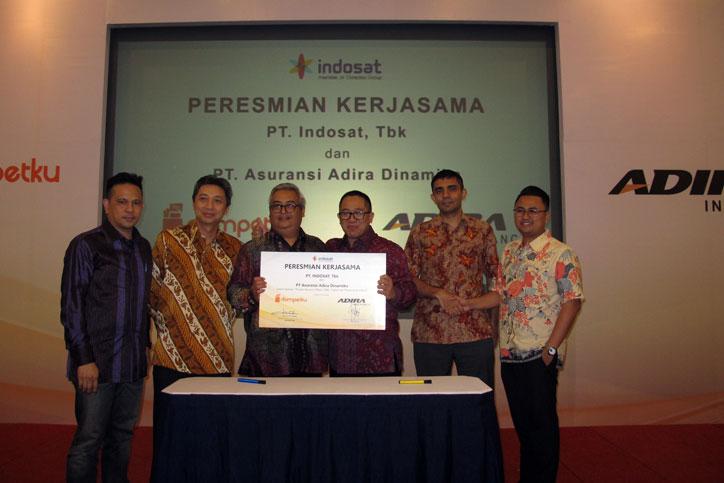 MOU-Adira-Insurance---Indosat