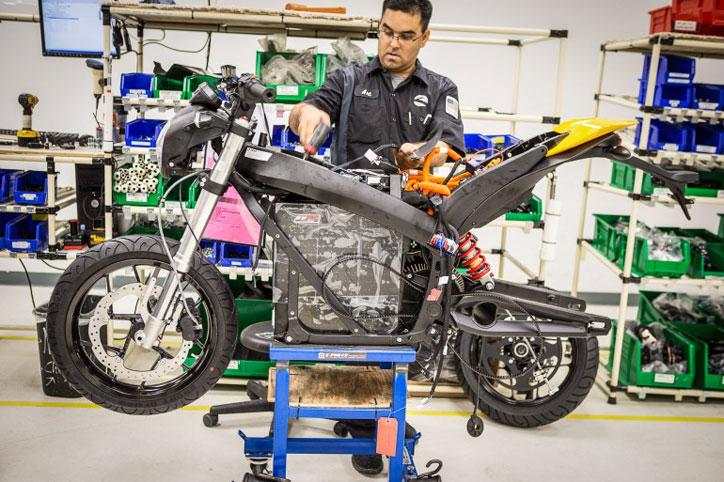 Pabrik-Zero-Motorcycles