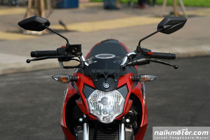 Yamaha new v ixion advance launching 4 naik motor jurnal pengendara motor Advance motor