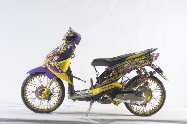 Group Of Bali Honda Beat Modif
