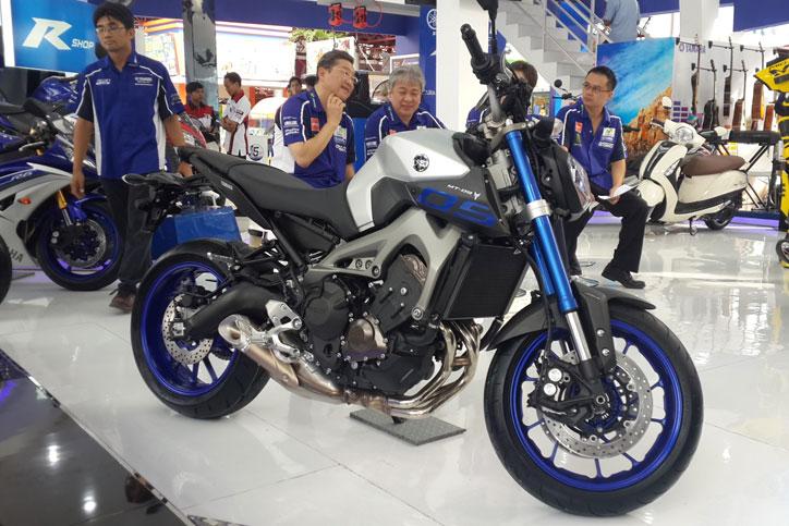 Yamaha MT-09 resmi diluncurkan Yamaha di arena Jakarta Fair Kemayoran dengan harga Rp 250 juta