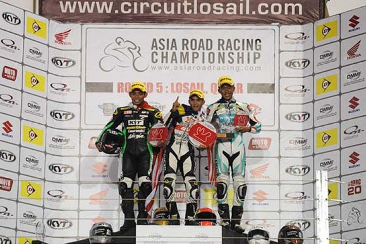ARRC-Qatar-2015-Underbone-race1-Gupita