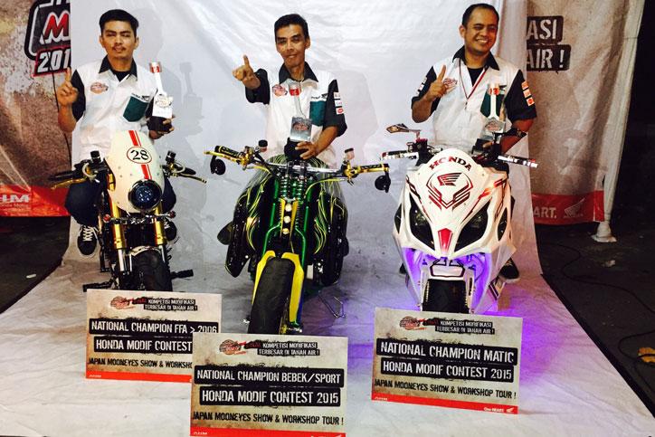 Juara-Honda-Modif-Contest-2015-ke-Mooneyes-Jepang
