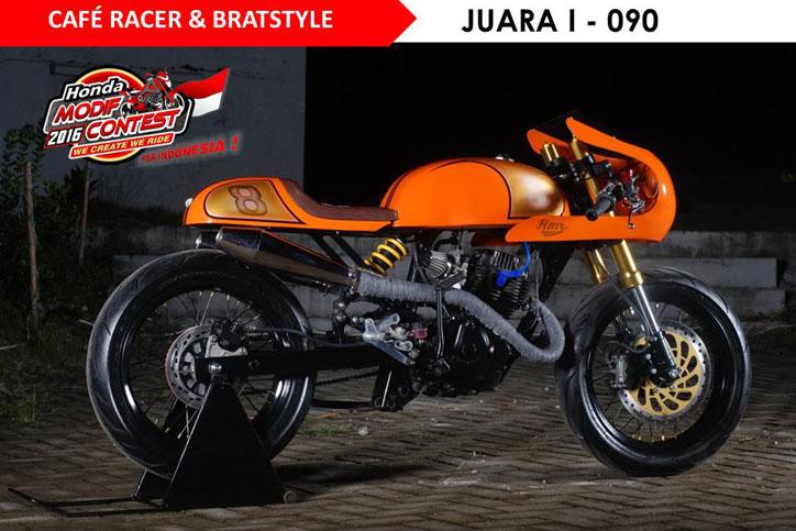 HMC_Makassar_2016_Juara_1_Cafe_Racer_Bratstyle