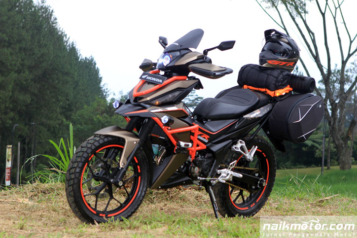 Grand Touring Adventure, Konsep Modifikasi Gahar Honda