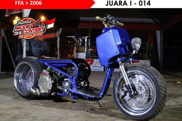 Honda_Modif_Contest_HMC_Lampung_2016_Juara_FFA