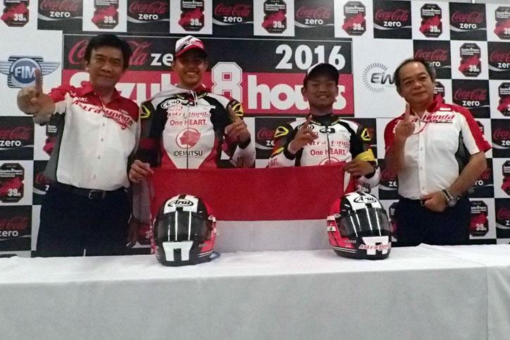 Juara Suzuka 4 Hours Endurance 2016