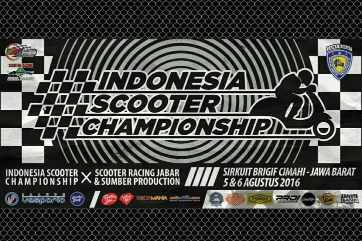 Indonesia Scooter Championship 2016 Cimahi