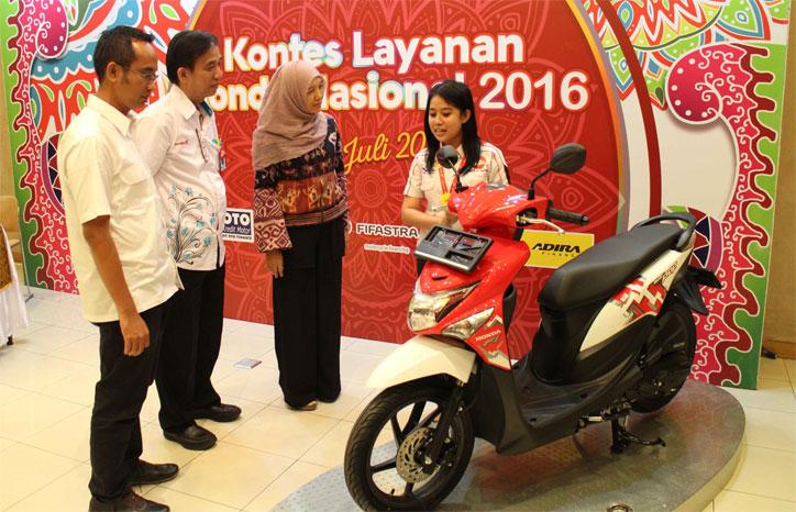 Kontes Layanan Honda