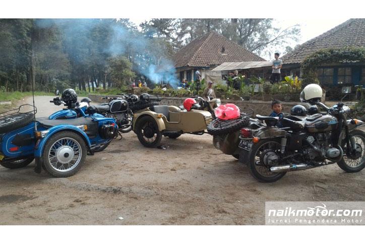 pemilik motor klasik ural di bandung