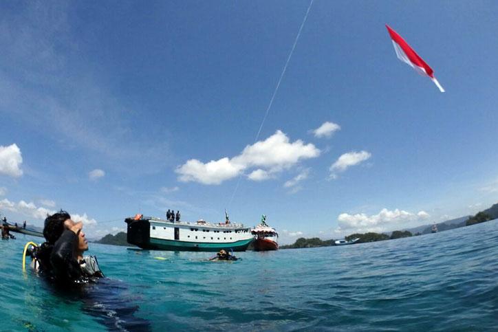 BBMC kibarkan bendera merah putih