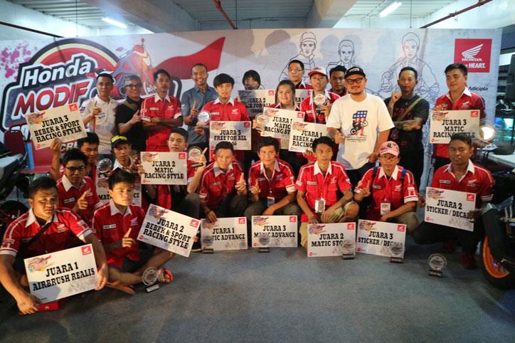 Honda Modif Contest 2016 Manado