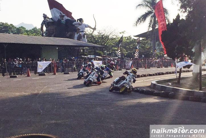 Hasil QTT Indonesia Scooter Championship 2016 cimahi