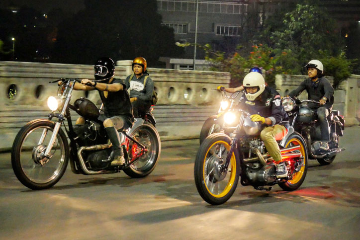 Kolaborasi KickAss Choppers dan Elders Company