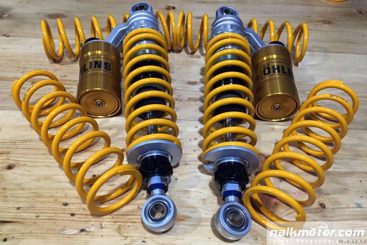 shockabsorber ohlins untuk grasstrack