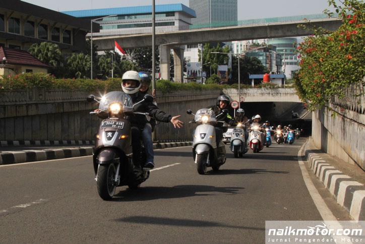 Peugeot Scooters Mulai Rambah Solo dan Bali