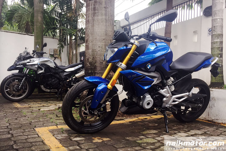 BMW G310R di Indonesia
