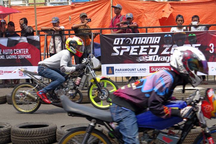 Drag Bike Otomania Speedzone 2016