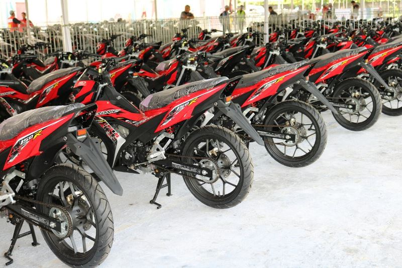 900 Ban FDR Diturunkan pada Cabang Balap Motor PON XIX Jabar
