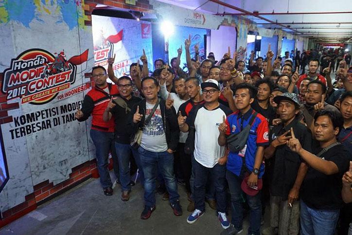 Honda Modfi Contest 2016 balikpapan