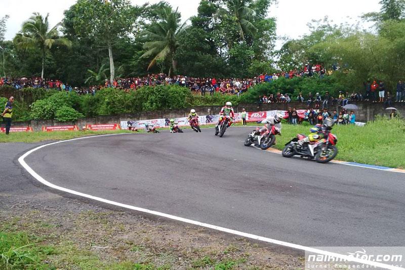 Hasil Lomba Balap Motor PON XIX Jabar