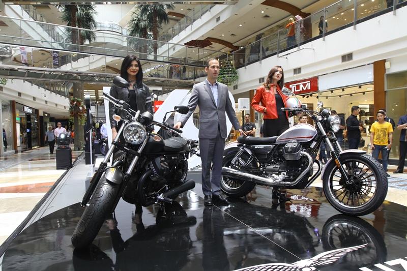 Dua model terbaru Moto Guzzi V9 Roamer dan Bobber dikeluarkan secara resmi oleh PT Piaggio Indonesia