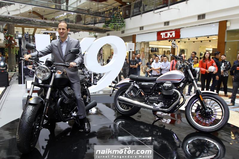 Moto Guzzi V9 Roamer dan V9 Bobber