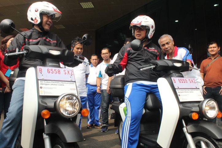 AHM Persembahkan Motor Listrik Untuk Program Uji Coba Pemerintah