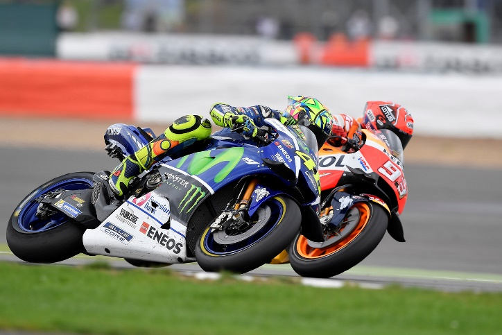 Duel Rossi - Marquez