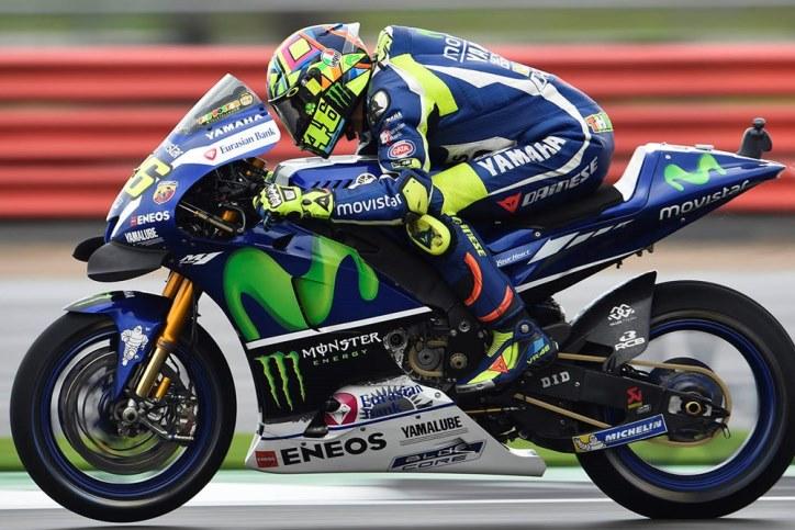 Rossi Berharap Balapan Kering di MotoGP Silverstone