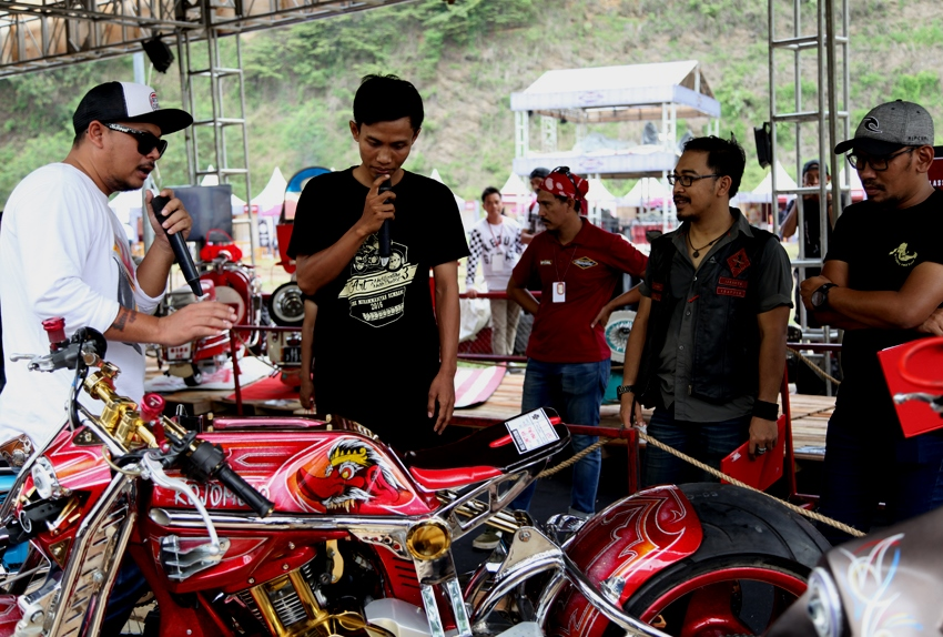 Petuah Dedengkot Kustom untuk Peserta Kontes Suryanation Motorland
