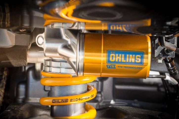 Suspensi Terbaru Ohlins untuk Motor Yamaha Diperkenalkan