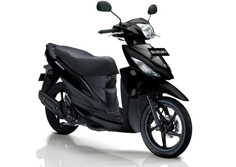 Suzuki Address Black Predator