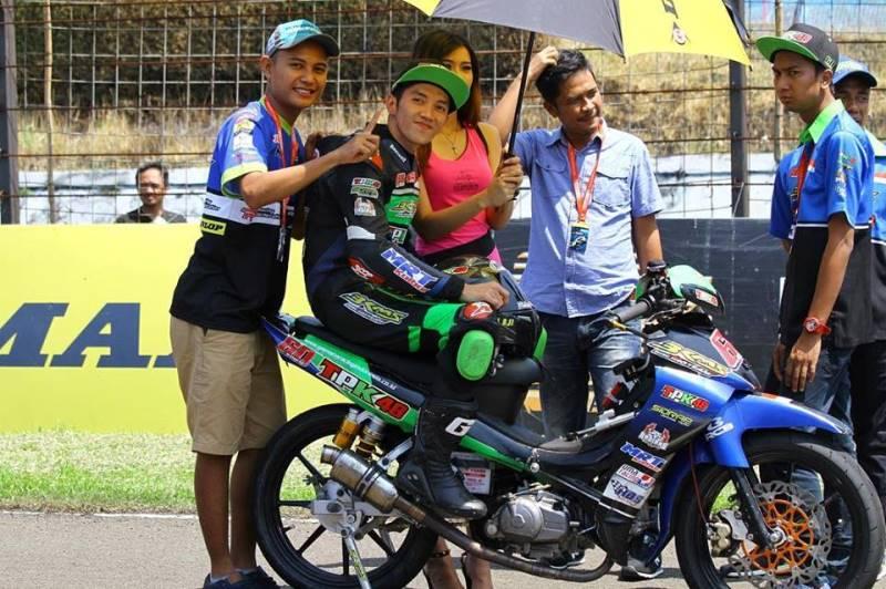 Benamkan Pembalap Malaysia, Wahyu Aji Start Terdepan di ARRC India