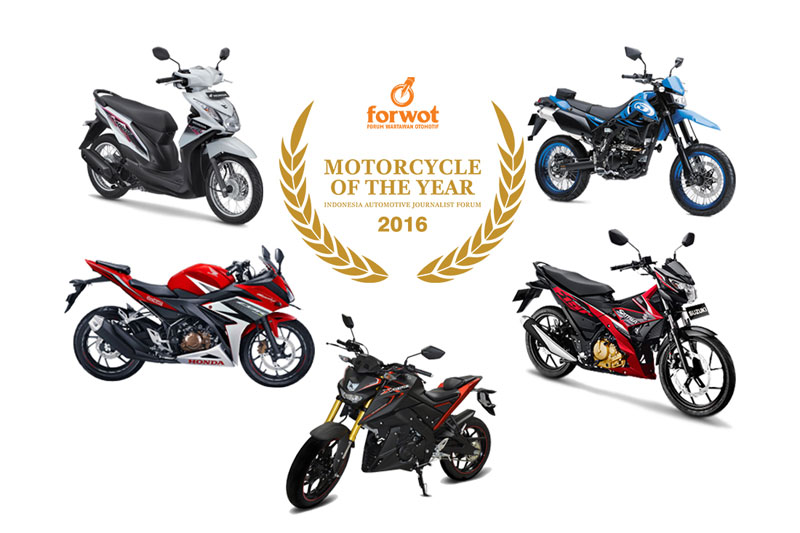 FORWOT Motorcycle of the Year 2016