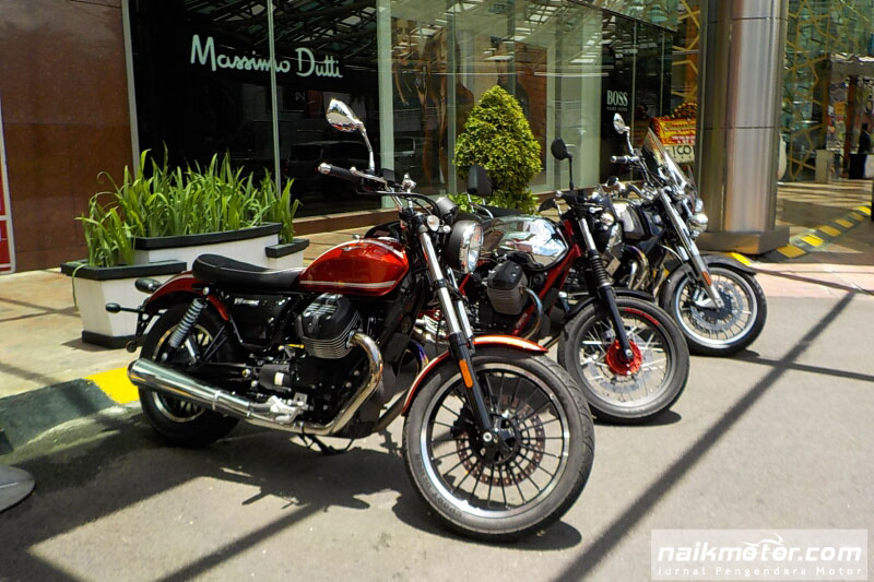 First ride Moto Guzzi V9 Roamer