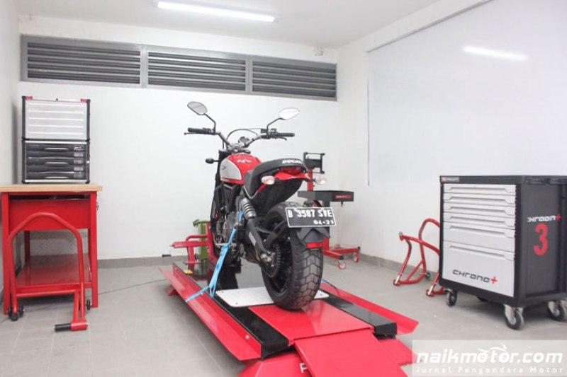 Servis Motor Ducati di Musim Hujan Lebih Murah