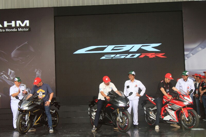 All New Honda CBR250RR