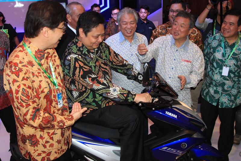 Menperin 'Curi Start' Buka Selubung Motor Baru di IMoS 2016
