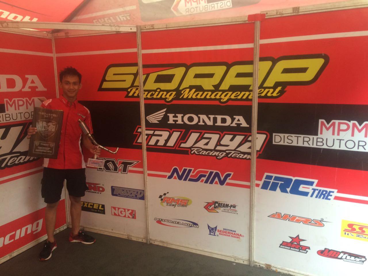 Awhin Sanjaya juara region MP2