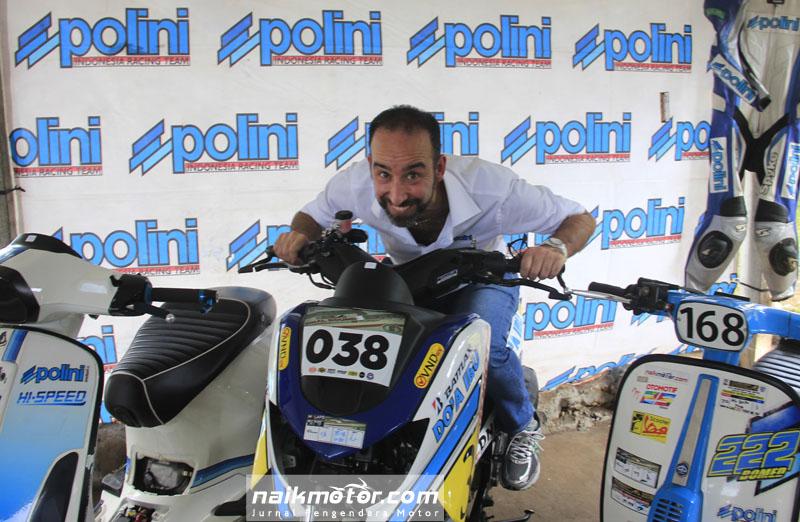 Kebahagiaan Bos Polini Datang ke Indonesia Scooter Championship
